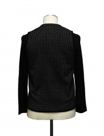 Cy Choi black and white polka dot cardigan price