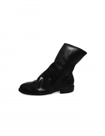 Black leather Guidi 698 boots buy online