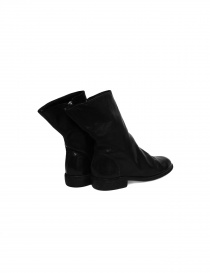 Black leather Guidi 698 boots price