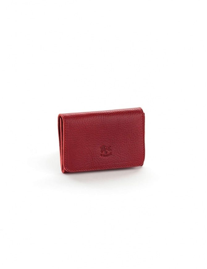 Il Bisonte Zoom card-case C0470..P 134 ROSSO wallets online shopping