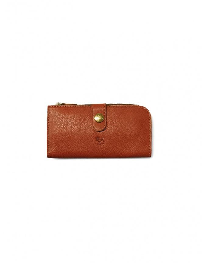 Portafoglio Il Bisonte in pelle naturale C0782/MP 145 NATURAL portafogli online shopping