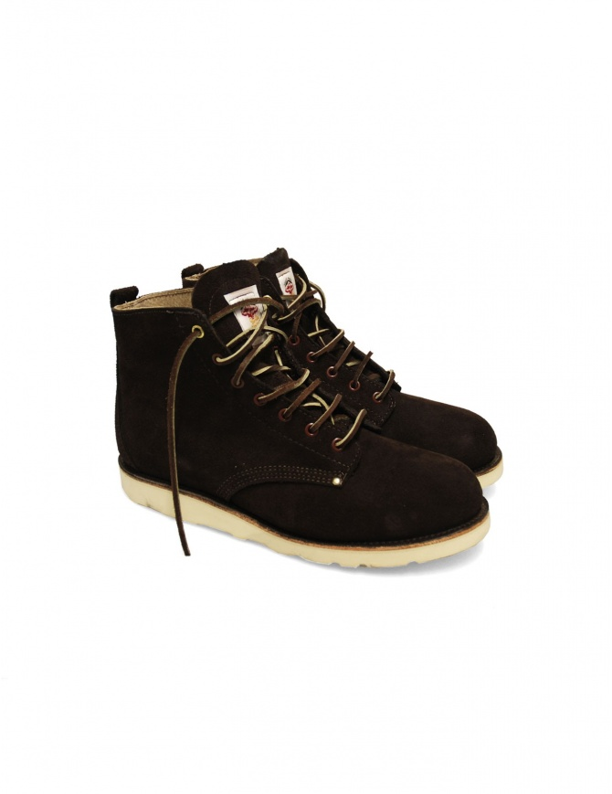 The Gorilla Shoe USA ankle boots 31762-CHOCOL mens shoes online shopping