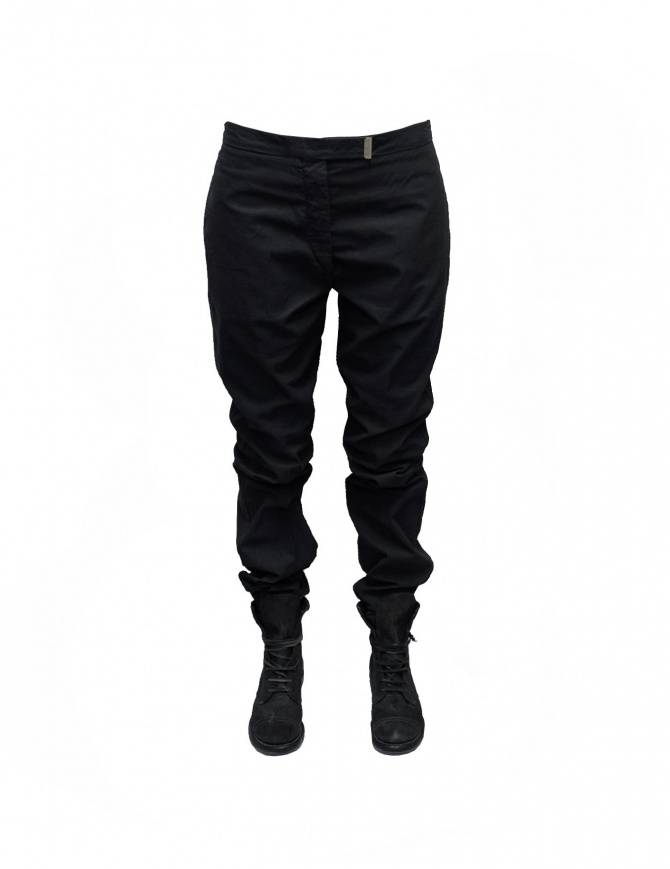 Carol Christian Poell trousers in black PF-0918OD-CO womens trousers online shopping