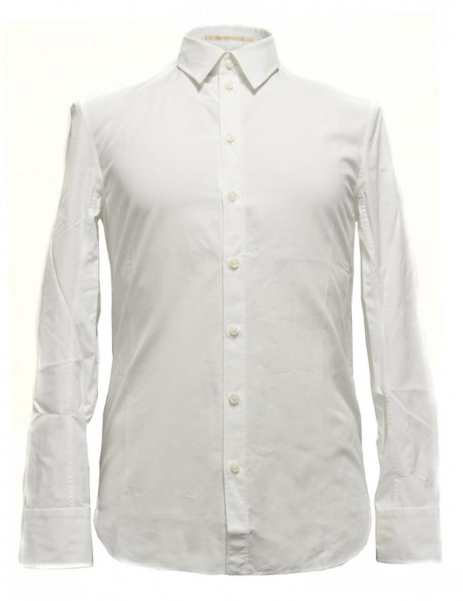 Camicia Carol Christian Poell a maniche lunghe bianca CM2610-ROH-1 camicie uomo online shopping