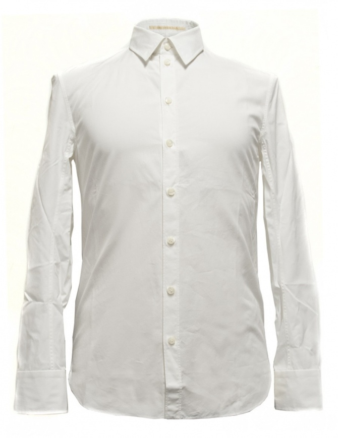 Carol Christian Poell long sleeved white shirt CM2610-ROH-1 mens shirts online shopping