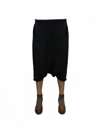 Label Under Construction Pocket Trapezium black skirt pants 23YXGM129SE-