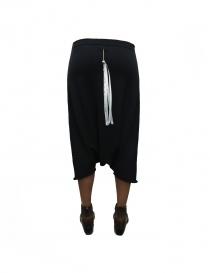Label Under Construction Pocket Trapezium black skirt pants price