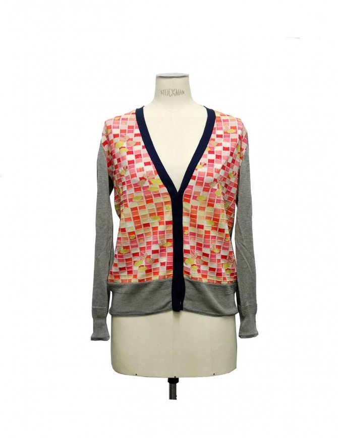 Side Slope X Antipast gray cardigan L081 33 womens cardigans online shopping