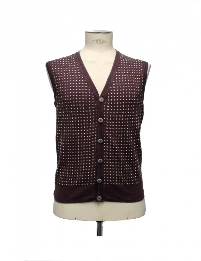 GRP gilet bordeaux SFJQ PL20 BOR mens vests online shopping