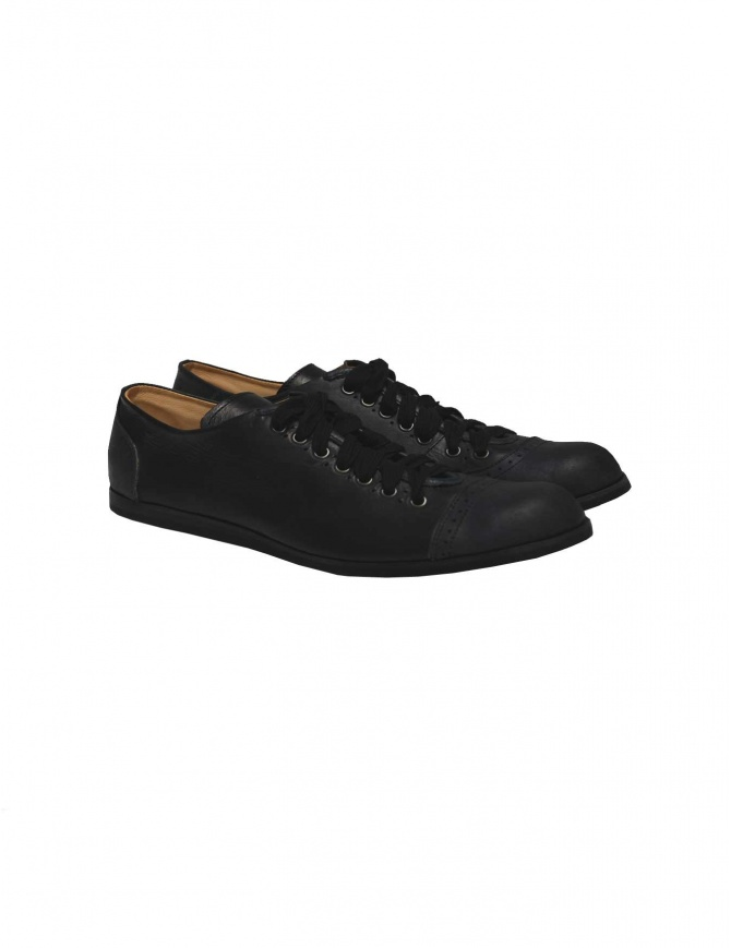 Sak leather sneakers 070 NERO/BLU mens shoes online shopping