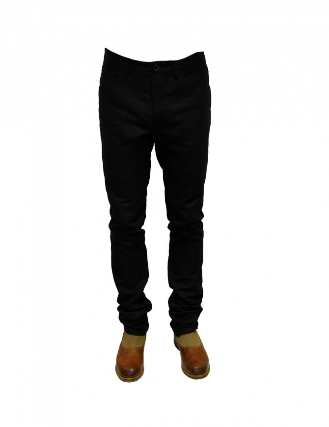 Label Under Construction Topstitch pants 23FMPN49CO14 mens trousers online shopping