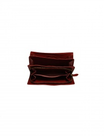Il Bisonte long red wallet with zippers price