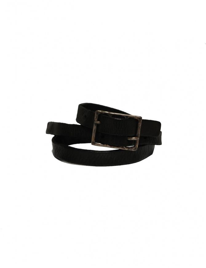 Cintura Carol Christian Poell Diverging colore nero AM/2602 BELP cinture online shopping
