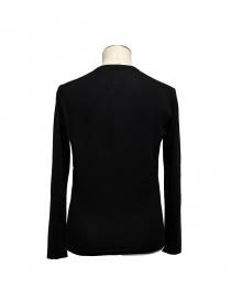 Adriano Ragni black V-neck pullover
