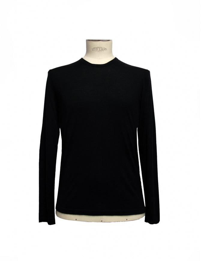 Maglia Adriano Ragni colore nero 7ARSW22PCWS2 maglieria uomo online shopping