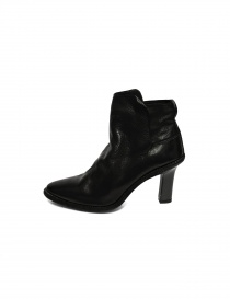 Black leather Guidi MC87 shoes buy online