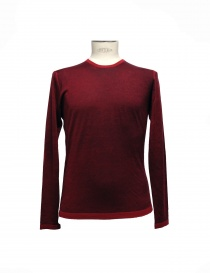 Adriano Ragni red pullover elbow patches online