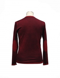 Adriano Ragni red pullover elbow patches