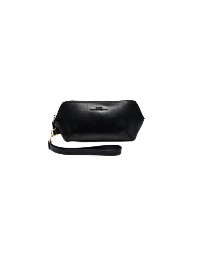 Desa 1972 black leather wallet DP3844-/SLG1 wallets online shopping
