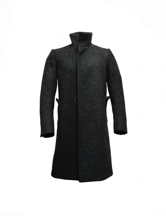 Carol Christian Poell back raglan high neck coat OM 2340L STE mens coats online shopping