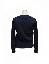 Side Slope navy cardigan