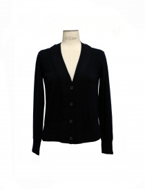 Side Slope black cardigan SLL 20-L031