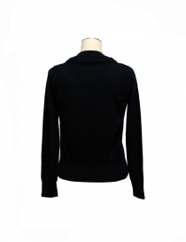 Side Slope black cardigan