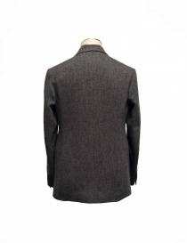 Giacca Nigel Cabourn Fox Brothers in tweed grigio