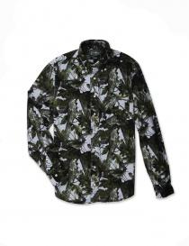 Camicia Gitman Bros colore verde GU02-L432-30 order online