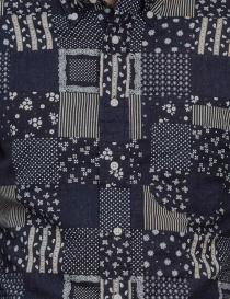 Camicia Gitman Bros patchwork