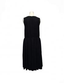 Sara Lanzi sleeveless black wool dress