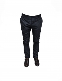 Adriano Ragni gray mixed cotton pants online