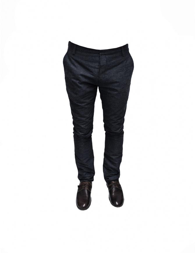 Pantalone Adriano Ragni grigio misto cotone 7ARPN01CW27UN 7/8 pantaloni uomo online shopping