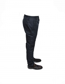 Adriano Ragni gray mixed cotton pants