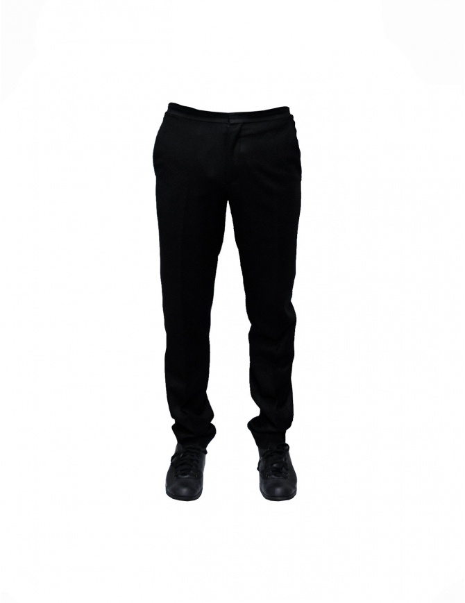 Cy Choi black wool pants CA47P01ABK00 mens trousers online shopping