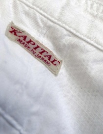 Kapital white plissé shirt price