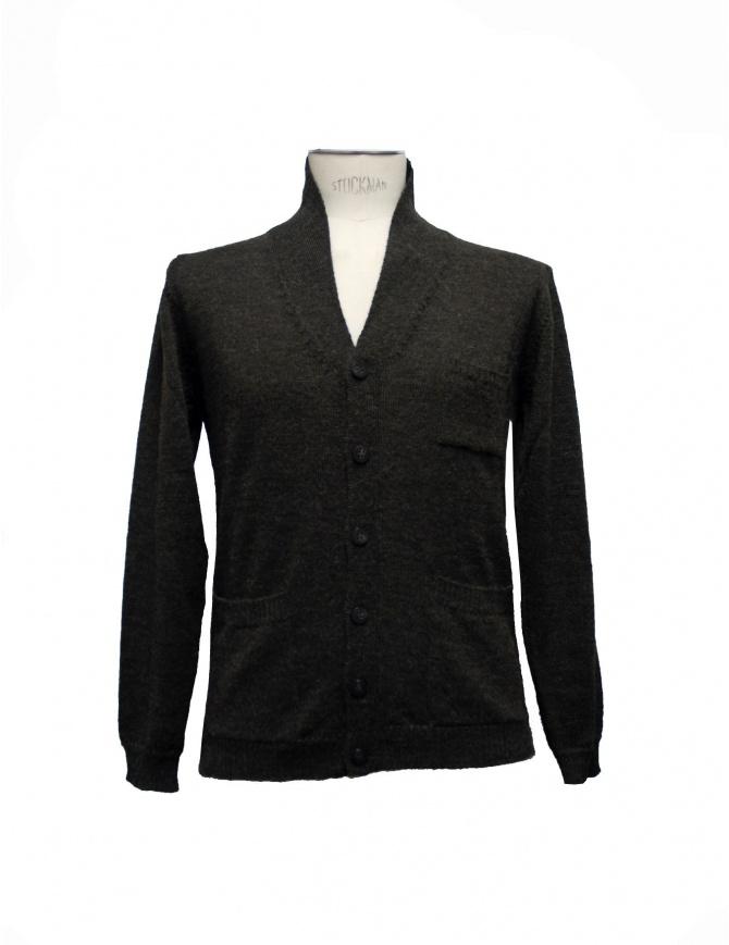 Casa Isaac green cardigan CC5-VERDE mens cardigans online shopping
