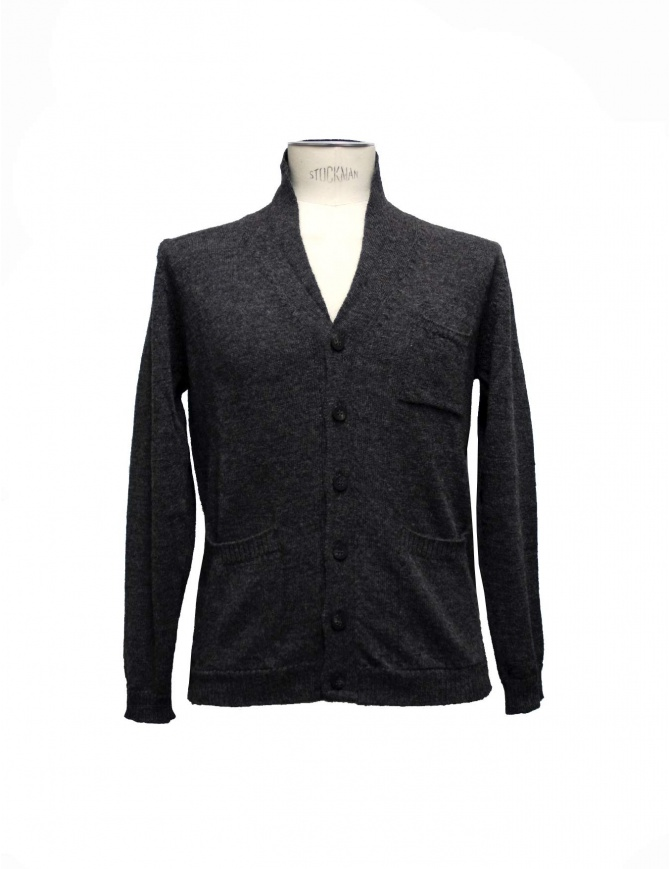 Casa Isaac anthracite cardigan CC5-ANTRA mens cardigans online shopping