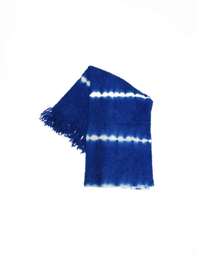 Suzusan scarf 2302 DARK BLUE WHITE scarves online shopping