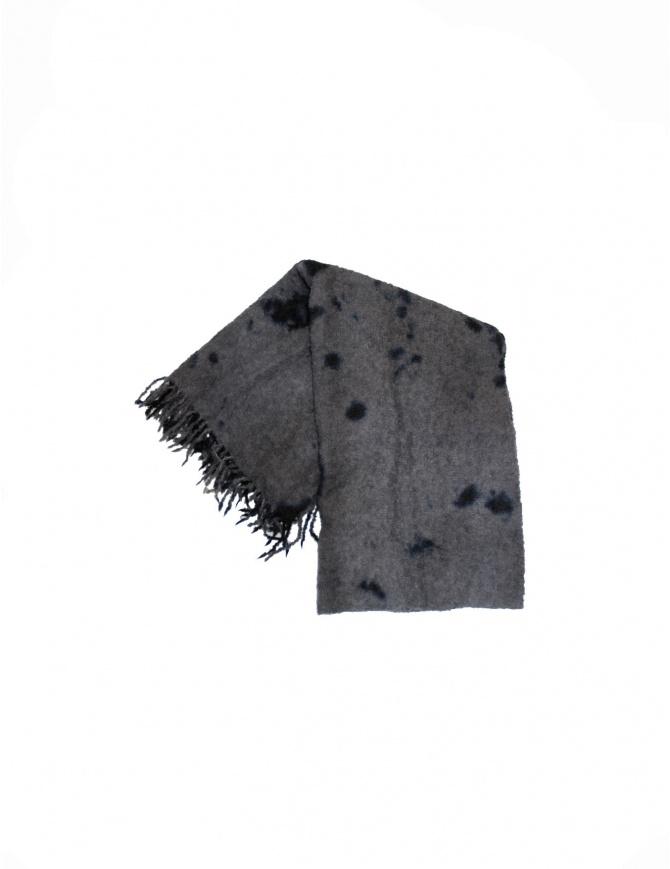 Suzusan scarf 2301 BLK GREY scarves online shopping