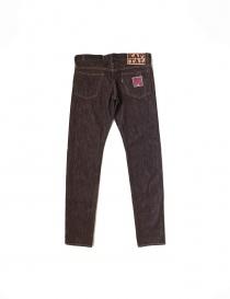 Kapital Indigo N. 8 brown melange jeans