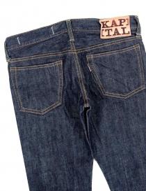Jeans Kapital blu scuro regular fit prezzo