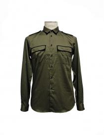 Cy Choi shirt military green online