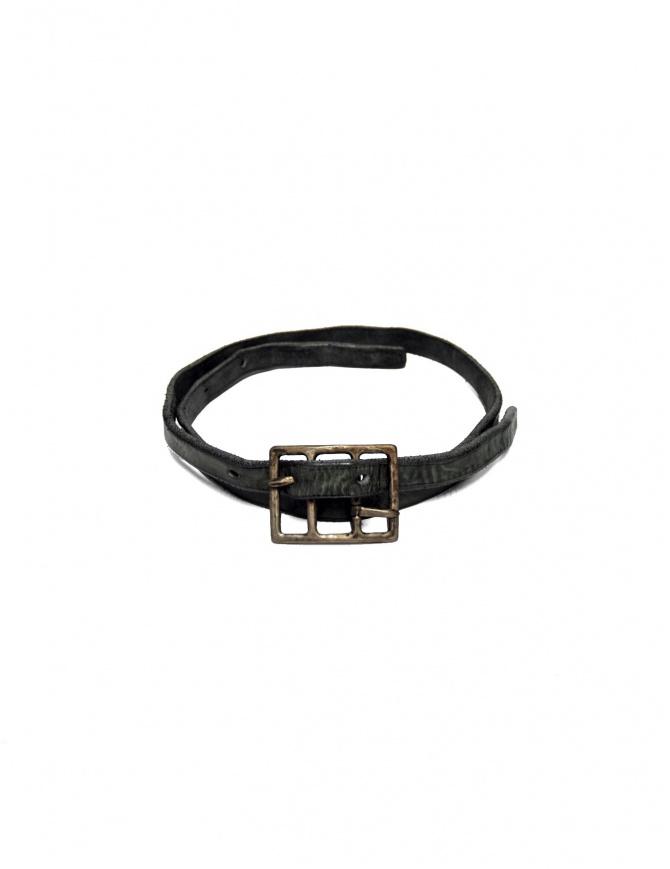 Carol Christian Poell Diverging gray belt AM-2602-BELP belts online shopping