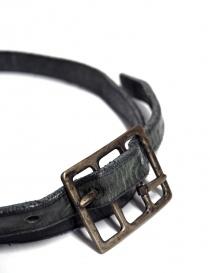 Cintura Carol Christian Poell Diverging colore grigio