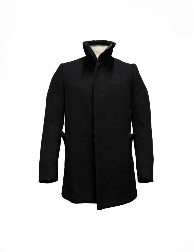 Carol Christian Poell caban high neck coat OM-2553B-WFA mens coats online shopping