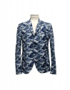 Golden Goose blue camouflage reversible suit jacket buy online G26U539-B4