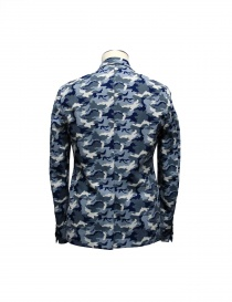 Golden Goose blue camouflage reversible suit jacket buy online