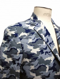 Golden Goose blue camouflage reversible suit jacket price