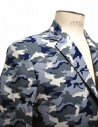 Golden Goose blue camouflage reversible suit jacket G26U539-B4 price